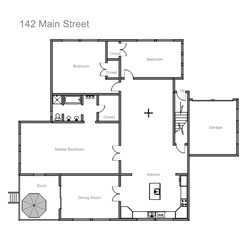 Easy to use floorplans drawing software - House plan drawing apps ...